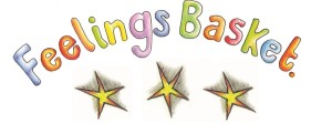 Feelings Basket logo with stars