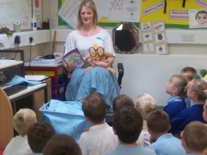 Visit to Birch Hill Primary School.
